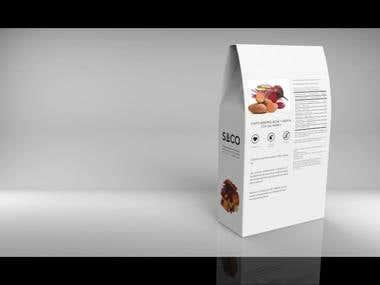 Proyecto de chips de batatas remolacha, empaque + diseño