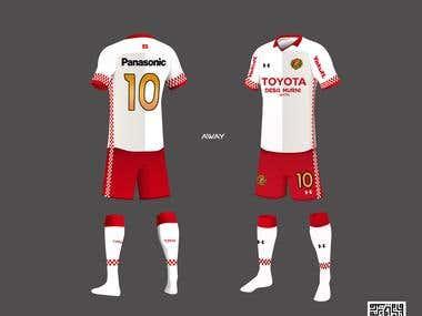 Soccer Kits Design