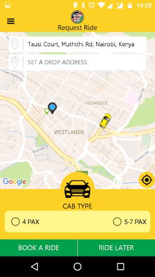 Uber Bases App