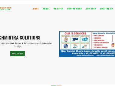 Develop Full Website in WordPress
