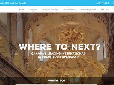 Travelling Website for Canada