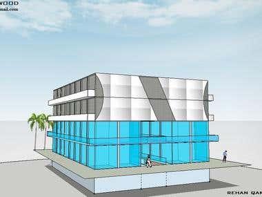 8000 Sqft commercial building
