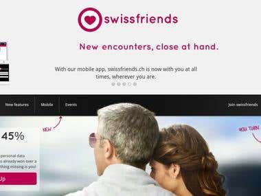 Swissfriends - Dating website