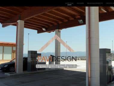 Website for Pavi Design F.lli Gatto S.r.l.