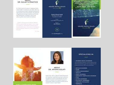 Flyer/Brochure and Report Layout Designs