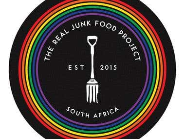 Logo Design: Real Junk Food Project, South Africa