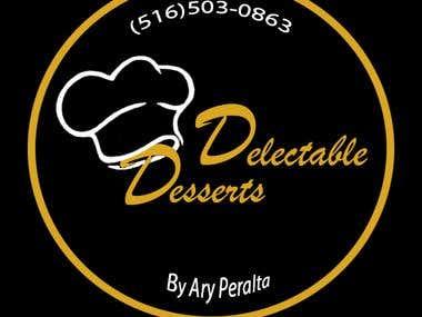 Delectable Desserts Logo