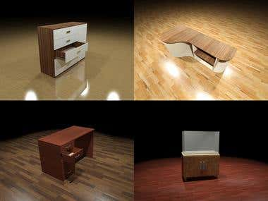 Simple furniture