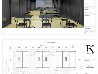 Plans and renders