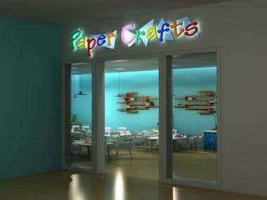3D, interior, decor, visualization