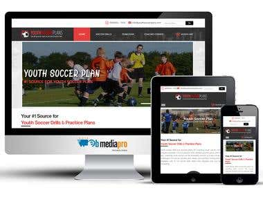 Youth Soccer Plans (Shopify)