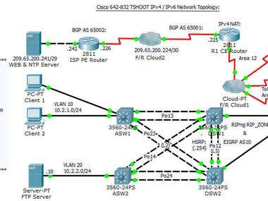 Network Troubleshooting Assignment
