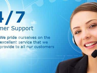 Customer Support ( Email, Chat)