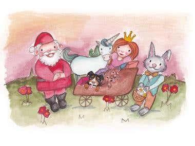 Santa & Fantasy Creatures