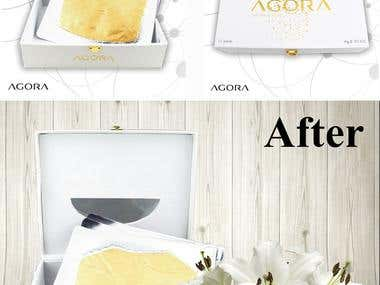 Product advertising design and Lifestyle montages