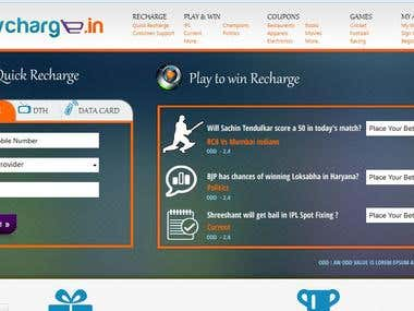 Online betting and recharge