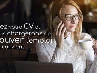 Publicité pour pro-emploi