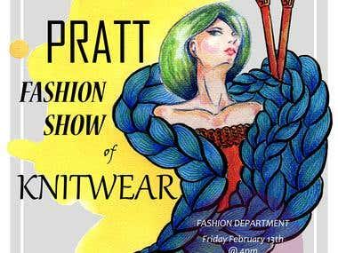 fashion show poster design