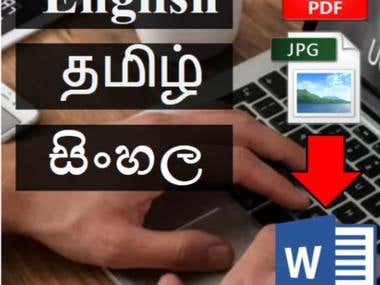 I will convert JPG/PDF to Word/Excel