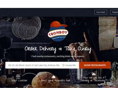 Food Delivery Portal and App