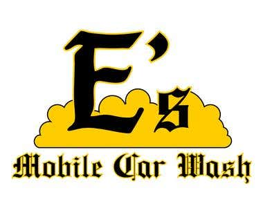E's Mobile Car Wash Logo