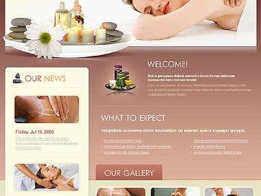 Message website