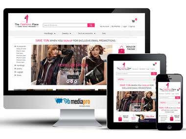 The Fashions Place (WordPress & WooCommerce)