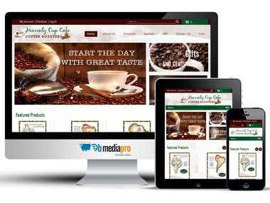 Heavenly Cup Cafe (WordPress & WooCommerce)