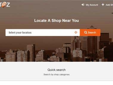 Local Search Engine Website and Mobile App