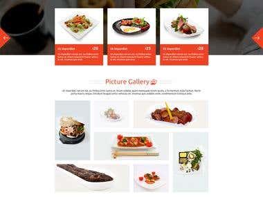 A. Restaurant Template
