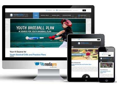 Youth Base Ball Plans (Shopify)