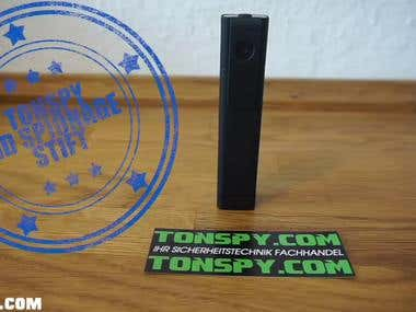 Tonspy Recording Devices- ALL SOUND DESIGN & VOICE