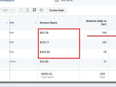 $63.36 Spend > $10,342.83 Return With Facebook Ads