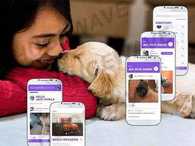Wow Jax (social app for Pets)
