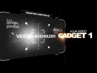 gadget 01 - Motion Graphics
