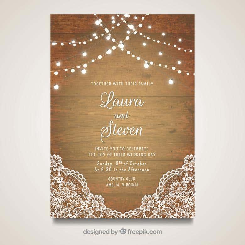 Wedding Invitation Card Freelancer