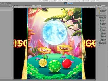 Bubble Shooter Game (Unity)