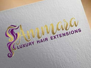 Hair and Beauty related logo