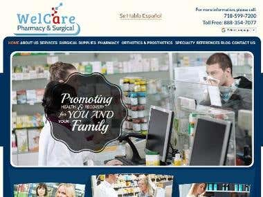 website-Welcare Pharmacy Surgical Brooklyn NY Drugs