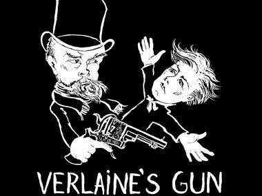 Rimbaud and Verlaine - caricatures