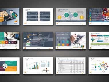 Pitch Deck / Investor Presentation