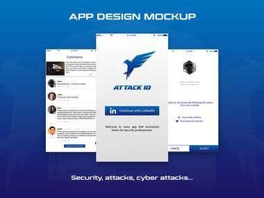 Application Design mockup