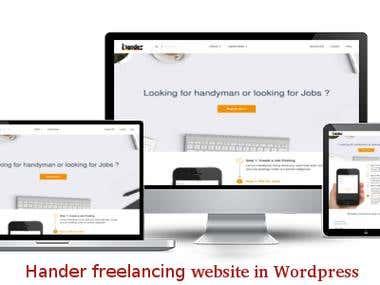 Hander website
