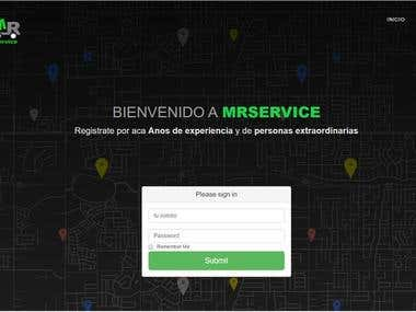 MRService Web and Mobile