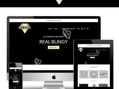 Redesign in Shopify
