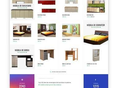 E-commerce Furniture Design Concept