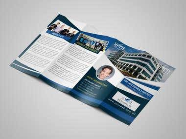 Brochure Design,(Tera fold )