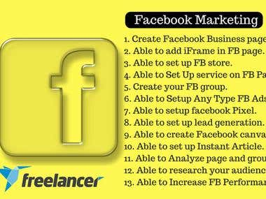 Expert In Advance Facebook Marketing