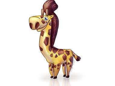 """Approachable Giraffe"""