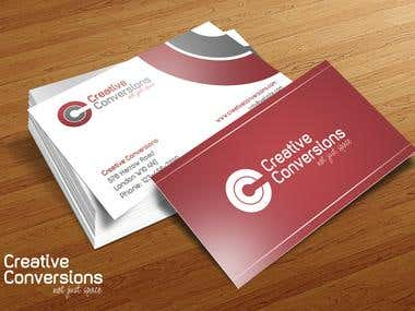 Creative Conversions Business Card
